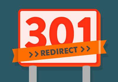 ریدایرکت های ساده 301 برای جابجایی ادرس ها